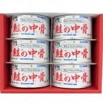 銀鮭中骨6缶展開
