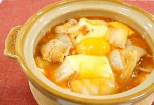 コラーゲンピリ辛 豆腐チゲ鍋風